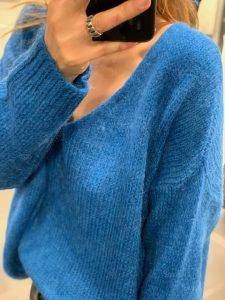 Pull LORYN Bleu Royal